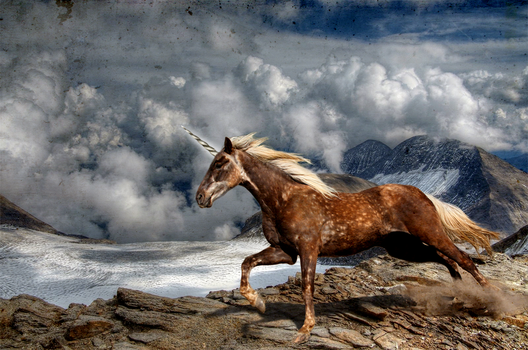 Horse/Mountain Manip by ramebir