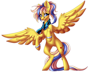 Art Trade with MelodySweetheart -SPEEDPAINT by ImmaGoddamPony