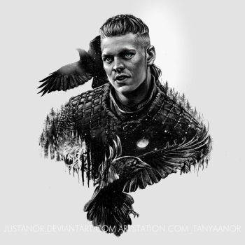 ~Ivar the Boneless~ by JustAnoR