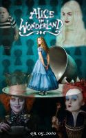 Alice in Wonderland Poster by monsterain
