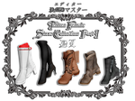 Tekken Female Shoes Collection Part I by PMDMaster