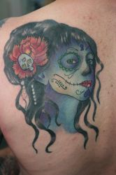 Day of the Dead Cover Finished by Lucky-Cat-Tattoo