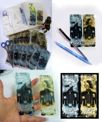 Daft Punk Bookmark ready to sell by UmmuVonNadia