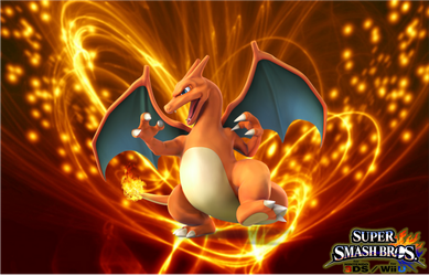 SSB4 Charizard Wallpaper by Galaxy-Afro
