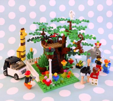Lego Happy Land by DreamsCatchMe