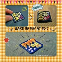 Baking my polymer clay... by WithATouchofFantasy