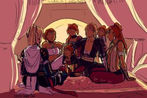 The Gerudo - RotS by Lineith