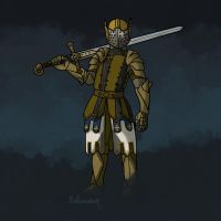 Comm: For Honor's Warden by Dulcamarra