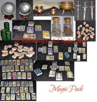 Magic pack by 3DigitalStock