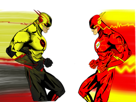Reverse flash/flash by Sh0gun86