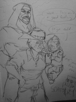 Overwatch: Reyes Family - Death Comes... by OokamiWarrior1234