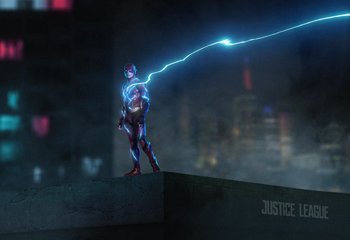 The Flash Justice League by LitgraphiX