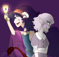 The Princess And The Pauper by BlueSilkie
