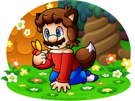 Commissions - Wolfie Mario (BabyAbbieStar) by CutyAries