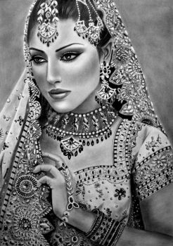 Bollywood Beauty by AngelasPortraits