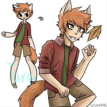 Fox Boy by KETCHUPDUDE