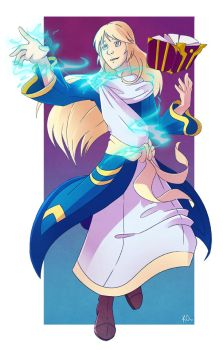 Commission: Fritz the Astral by TheArtsyAxolotl