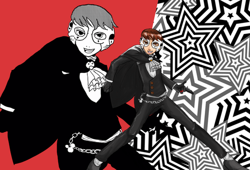 NicoB Persona 5 Contest by Cainmak