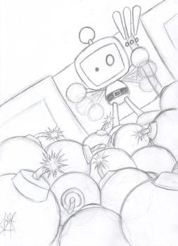 HOLY OH MY SNAP O.O- Bomberman by SlimeKingK