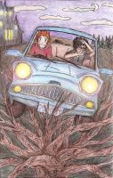 9. Drive- Harry and Ron by commoner-pocky