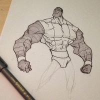 colossus sketch by Anny-D