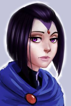 Portrait 3: Raven by Raichiyo33