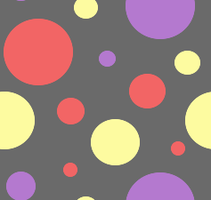 Tileable Dots Dark by MikariStar