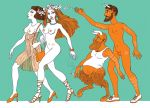 Modern Nymphs and Satyrs by DStoyanov