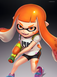 Inkling (Ultimate) by hybridmink