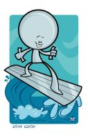 Silver Surfer by Montygog
