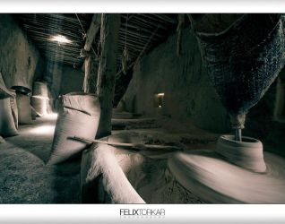 Tsampa Mill by FelixTo