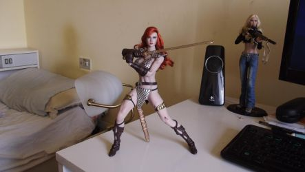 Red Sonja 1 by MorganCygnus