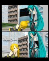 MMD Did You Just Fall by Magic-yumi