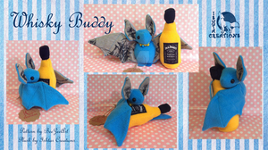 Whisky Buddy Bat by Ishtar-Creations