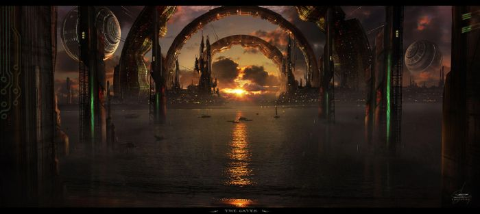 The Gates by Shue13