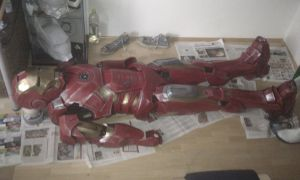 iron man mk7 suit 99% finished by EyeofSauron