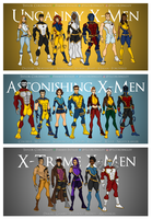 X-Men Redesign Teams by Femmes-Fatales
