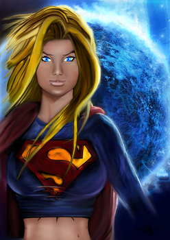 Supergirl by templep2k2