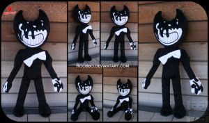 Bendy and the Ink Machine - Bendy  Demon Plush by roobbo