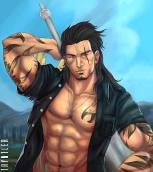 Gladioulus Amicitia by Tryntler