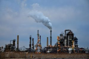 Oil Refinery 3 by FairieGoodMother