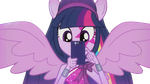EQG Rainbow Rocks Twilight with Mobile Vector by ABToons