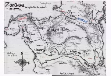 The Continent of Zartesva years, 101-139 AE by CaptainJonnypants