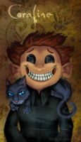 Coraline: Smile by Bilious