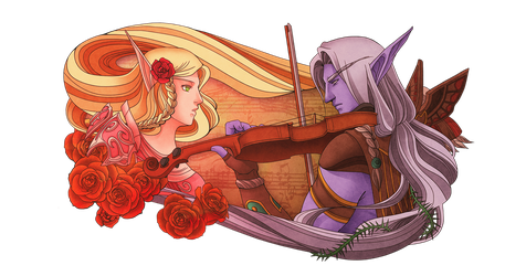 Rose and Thorn by Kurtssingh