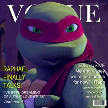 Covergirl - Raphael by TurboTails06