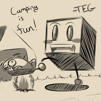 Camping by TheEnglishGent