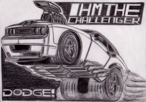 Challenger Toon Wheelie by theTobs
