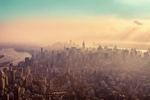 New York City Haze by Matthias-Haker