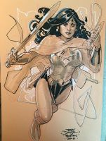 Wonder Woman 2 BCC 2016 by TerryDodson